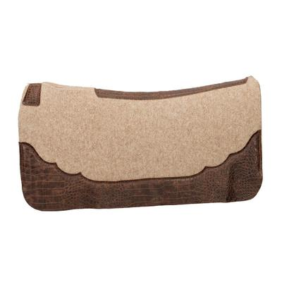 Weaver Contoured Wool Blend Felt Pad With Croc Print