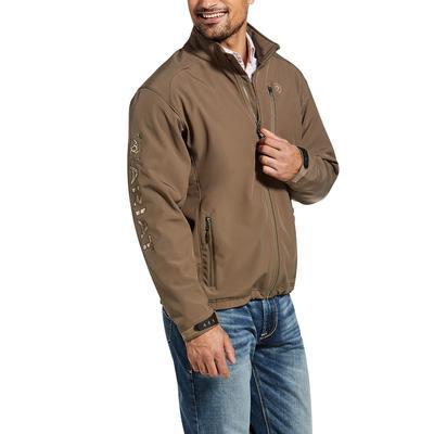 Ariat Men's Camo Logo 2.0 Softshell Jacket