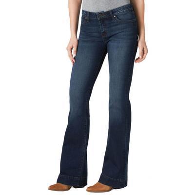 Wrangler Women's Retro Premium Trouser Jeans