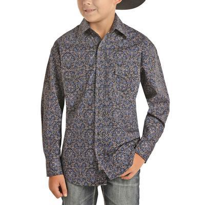 Rock&Roll Dale Brisby Boy's Floral Print Shirt