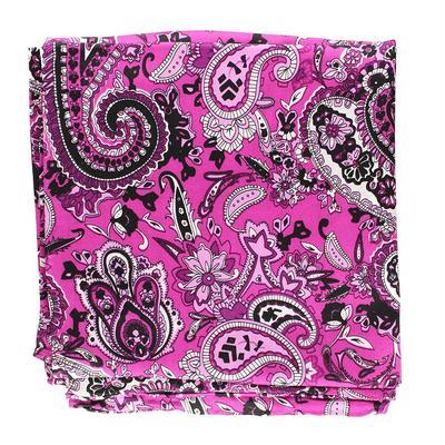 Pink Paisley Silk Wild Rag
