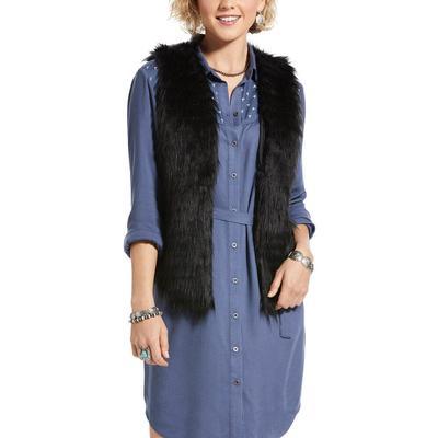 Ariat Women's Dazed Faux Fur Vest