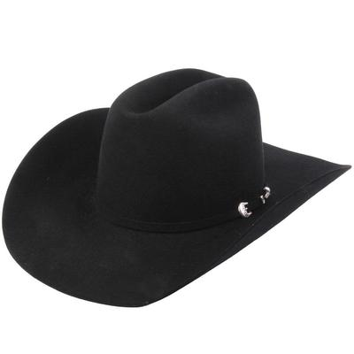 Resistol Men's Midnight 6X Black Felt Hat
