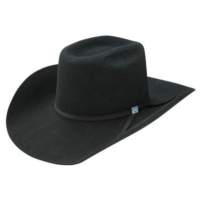 Resistol Men's 9th Round Black Felt Hat