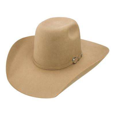 Resistol Men's Pecan Pay Window Felt Hat