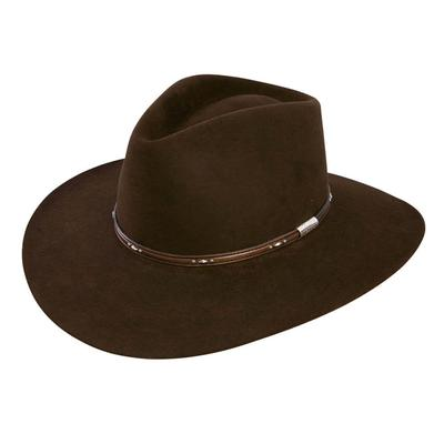 Stetson Pawnee Chocolate 5X Felt Hat