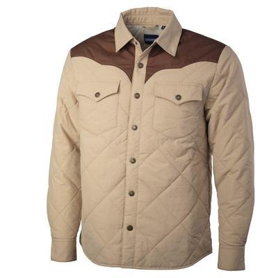 Resistol Men's Khaki Work Shirt Jacket