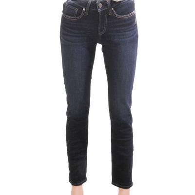 Silver Jeans Women's Suki Straight Leg Jeans
