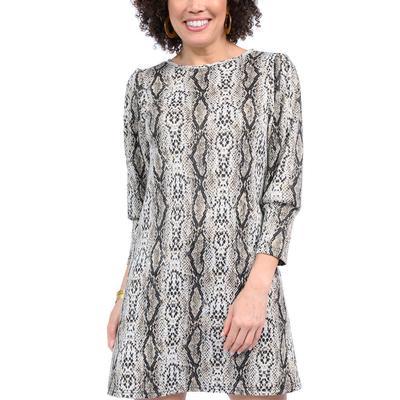 Uncle Frank Women's Shifty Snake Print Dress