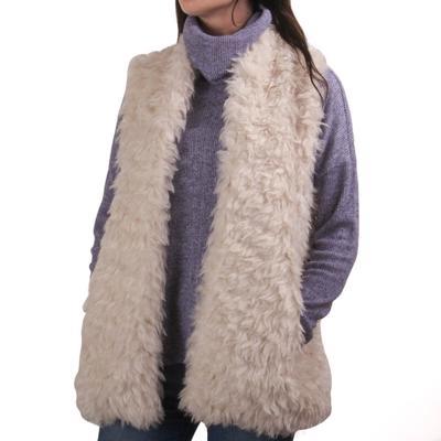 Dylan Women's Mongolian Fur Vest