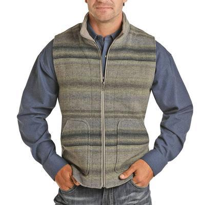 Powder River Men's Serape Wool Vest