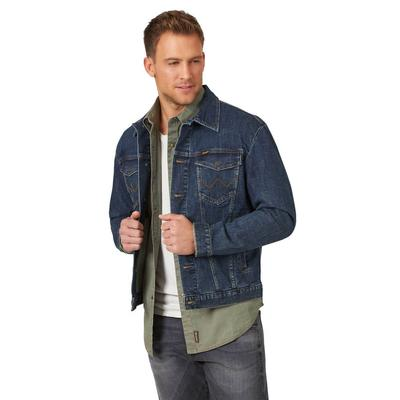 Wrangler Men's Bozeman Retro Denim Jacket