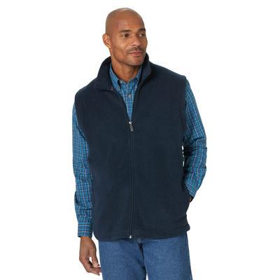 Wrangler Men's Dark Sapphire Fleece Vest