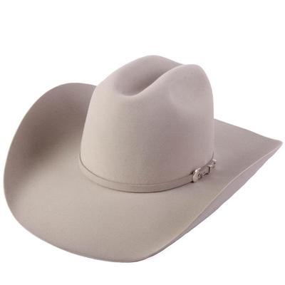 Resistol Men's 6X Midnight Silver Belly Felt Hat