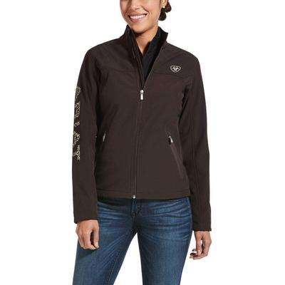 Ariat Women's Coffee Softshell Jacket