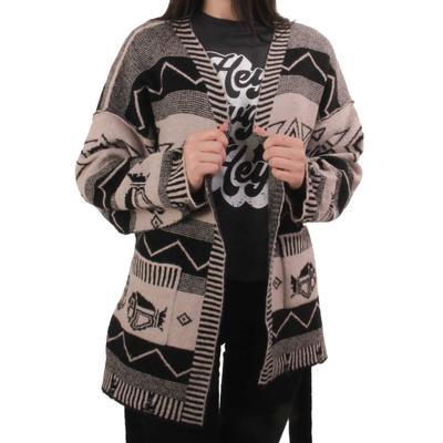 Women's Aztec Printed Cardigan