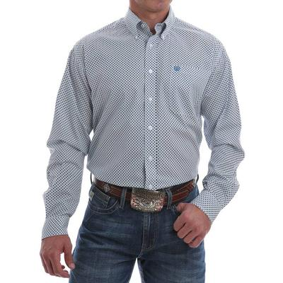 Cinch Men's Diamond Geometric Western Shirt