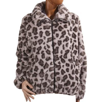Dylan Women's Heather Animal Zip Jacket