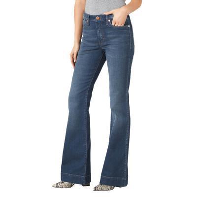 Wrangler Women's High Rise Diane Trouser Jeans