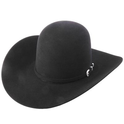 American Hat Co. 7X Men's Black Felt Hat