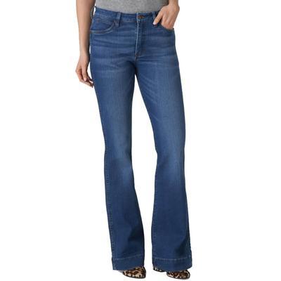 Wrangler Women's Retro High Rise Trouser Jeans