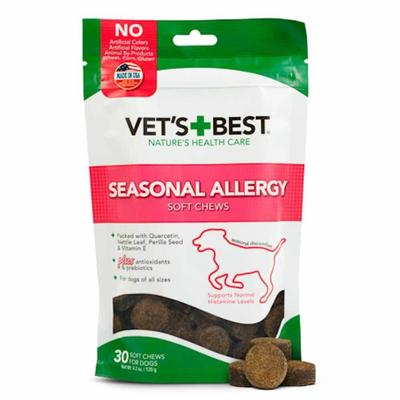 Seasonal Allergy Soft Chew Supplement for Dogs