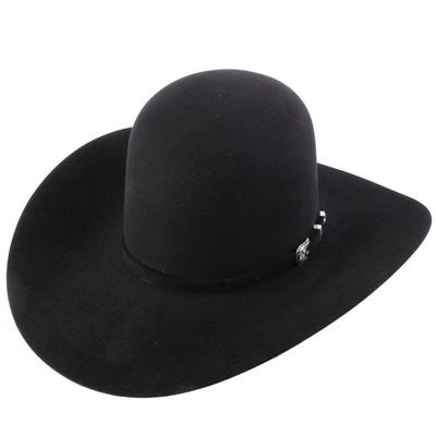 American Hat Co. Men's Black 20X Felt Hat