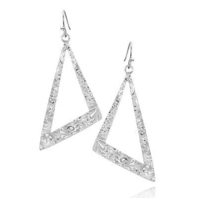 Montana Silversmiths Catch a Glance Asymmetrical Earrings