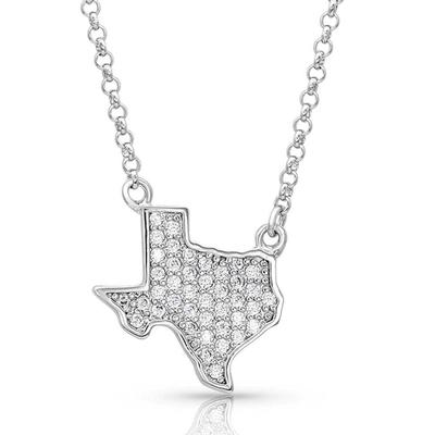 Montana Silversmiths Bright Lights Sparkling Texas Necklace