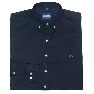 Resistol Men's Long Sleeve Sapphire Button Down