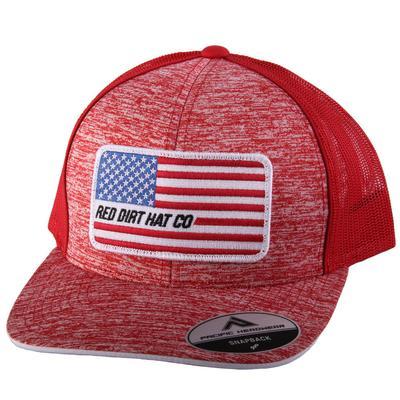 Red Dirt Hat Co.'s Red Memorial Cap