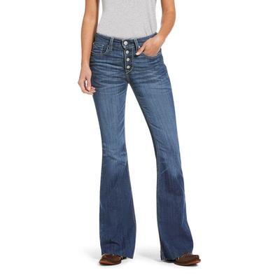 Ariat Women's Polly High Rise Flare Jeans