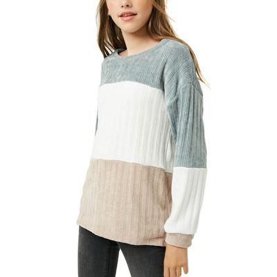 Hayden Girl's Chunky Knit Sweater