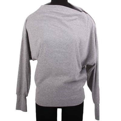 Hayden Girl's Grey Zip Sweater