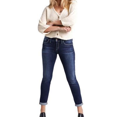 Silver Jeans Women's Slim Leg Boyfriend Jeans
