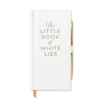Little White Lies Journal with Pen