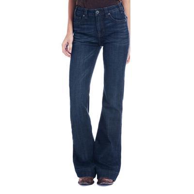 Rock&Roll Women's High Rise Trouser Jeans