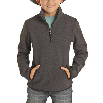 Panhandle Boy's Fleece Sweater Pullover
