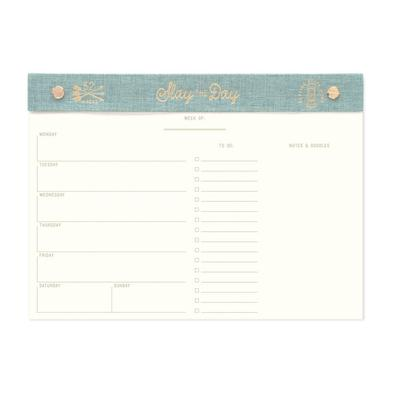 Slay The Day Weekly Desk Planner