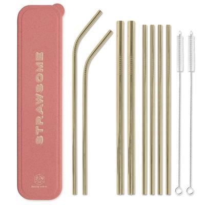 Stainless Steel Strawsome Straw Set