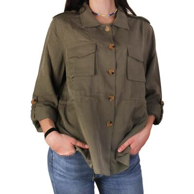 Joy Joy Women's Olive Jacket