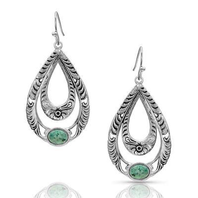 Montana Silversmiths Hidden Canyon Turquoise Earrings