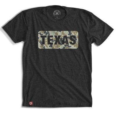 Tumbleweed Texstyles Men's Texas Camo Patch T-Shirt