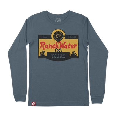 Tumbleweed Texstyles Ranch Water Label Long Sleeve T-Shirt