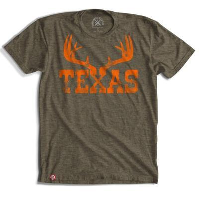 Tumbleweed Texstyles Men's Texas Antlers T-Shirt