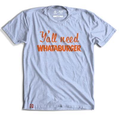 Tumbleweed Texstyles Men's Y'all Need Whataburger T-Shirt