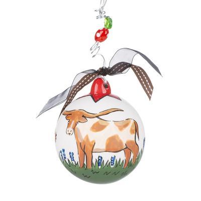 Texas Longhorn Ornament