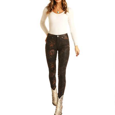 Rock&Roll Women's High Rise Skinny Jeans