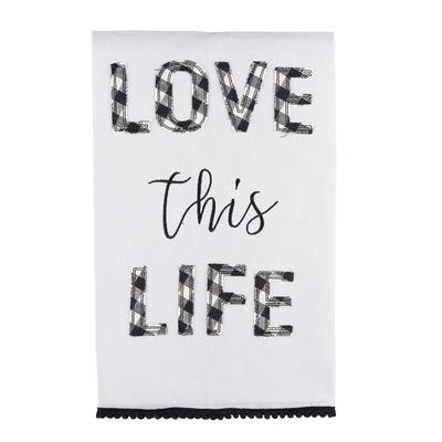 Love This Life Tea Towel