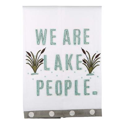 We are Lake People Tea Towel